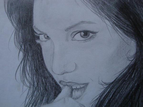 Angelina Jolie by Nyla